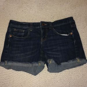 Mission denim shorts